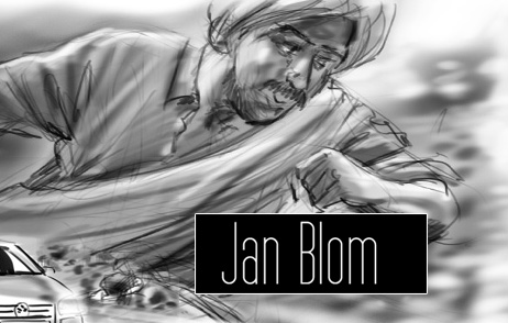 Jan Blom storyboard artist